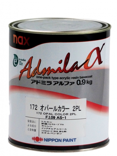 Базовое покрытие nax Admila Alpha 186 INDIAN FLAKE 2FE